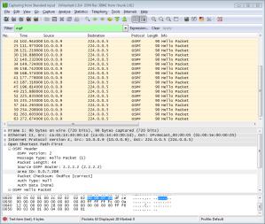 R2 OSPF Hello on Area 2000
